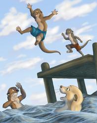 Swimming At Mr. Underoot's