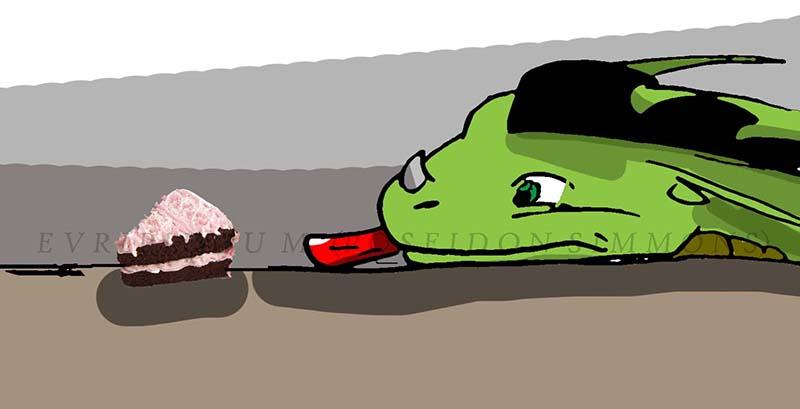james wants cake
