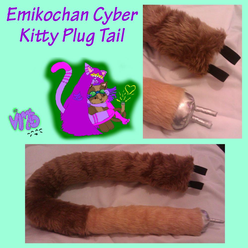 Emikochan Kitty Plug Tail