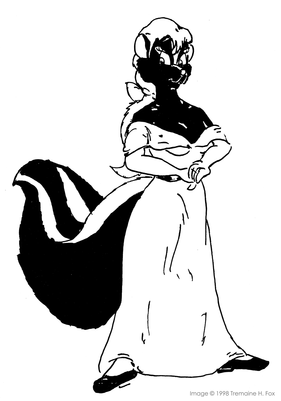 (1998) Pretty Skunk In a Dress