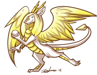 Flightrising Dragon commission