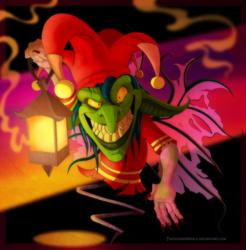 Spyro - Jacques the Nightmare Weaver