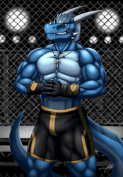 Antonio the Blue Drake