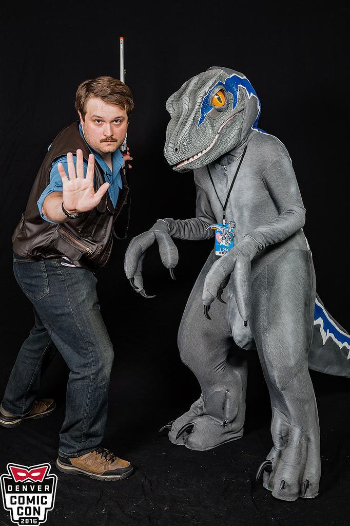 Denver Comic Con 2016: Owen and Blue