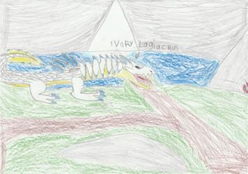 MH3U: Ivory Lagiacrus