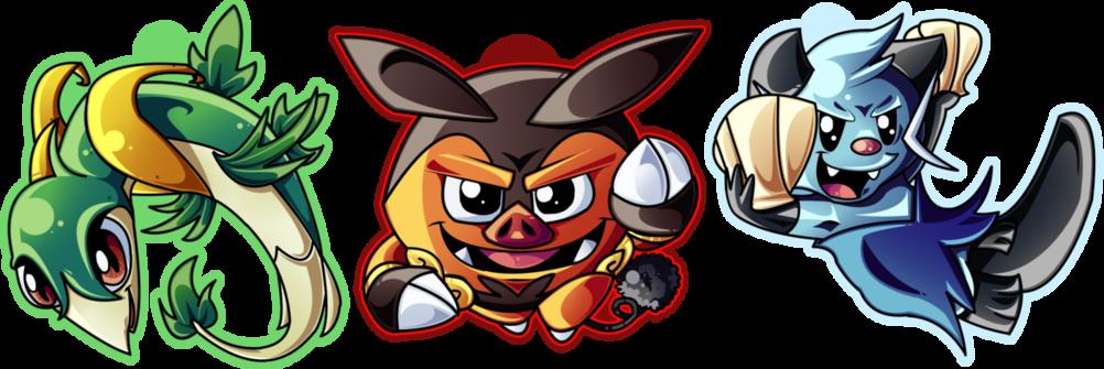 :Pokemon Gen 5 Starter Chains: