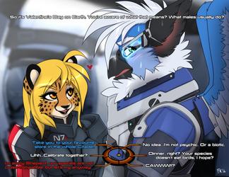 Mass Effect + Valentine's