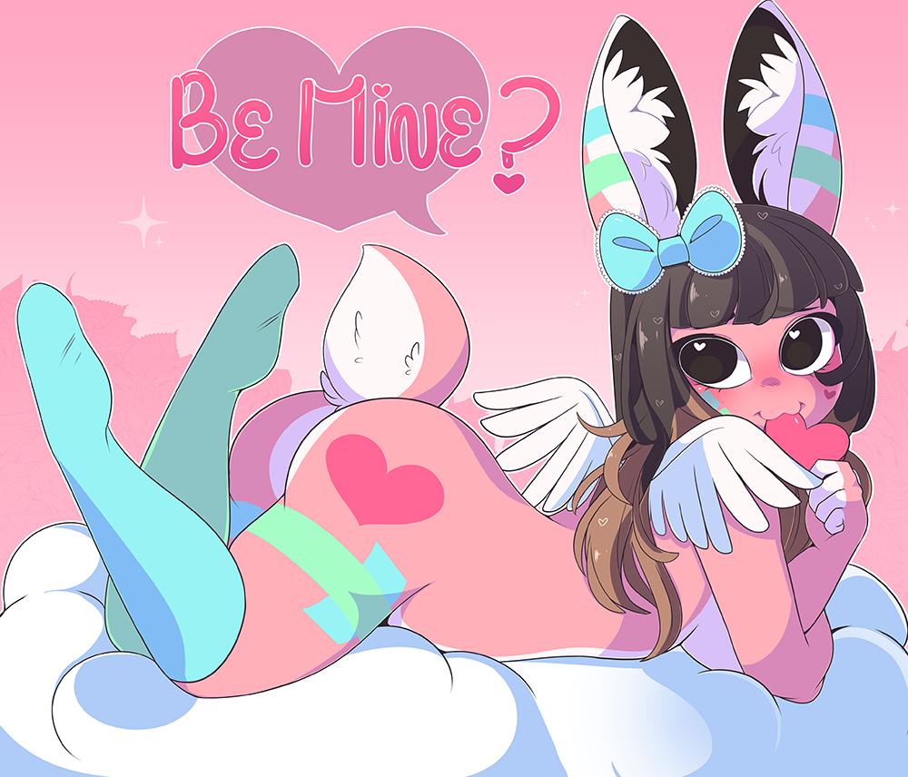 Valentine's YCH: Sugary Bunny