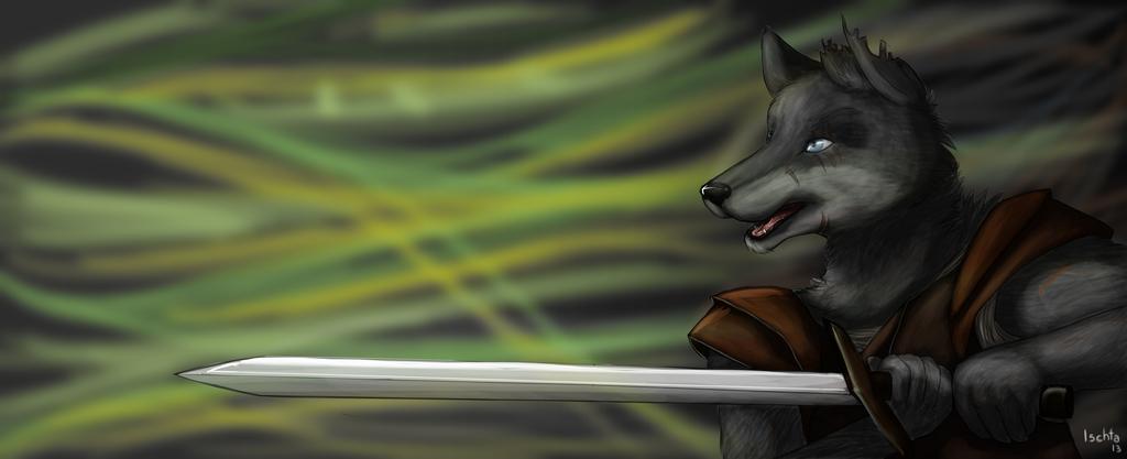 Duke - The Wolf Warrior