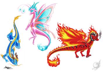 Baby Dragons - Set 2