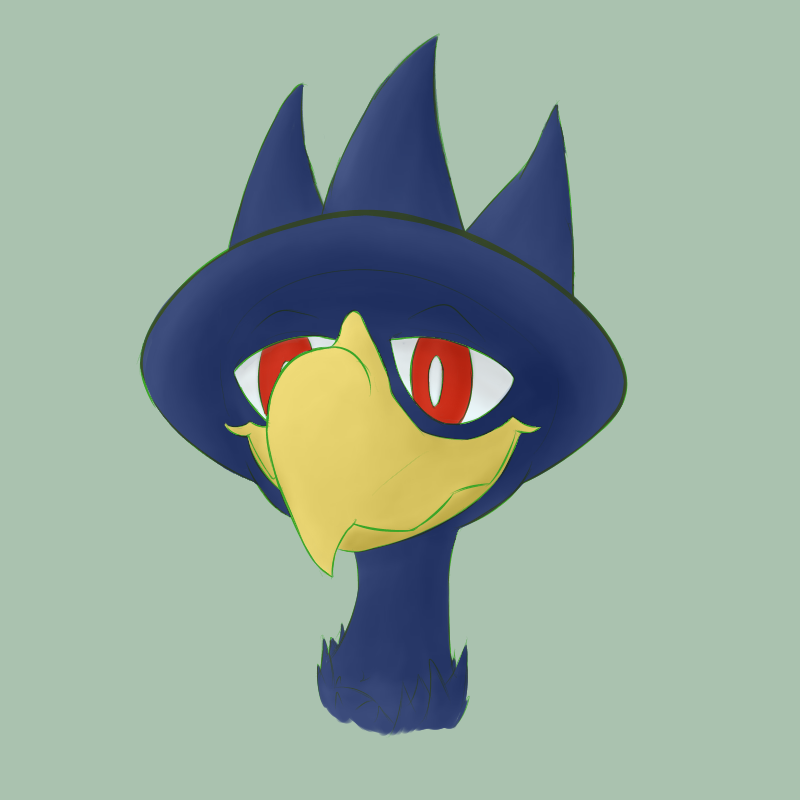 [Commission] Murkrow Icon