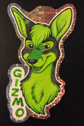 Headshot Badge - Gizmo