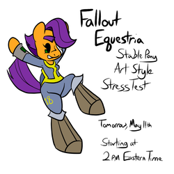 Fallout Equestria Stress Test