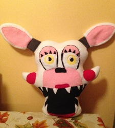 """Toy Foxy """"Mangle"""" Character Pillow SOLD"""