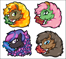 Pony Badges I