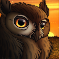 Eagle Owl Icon
