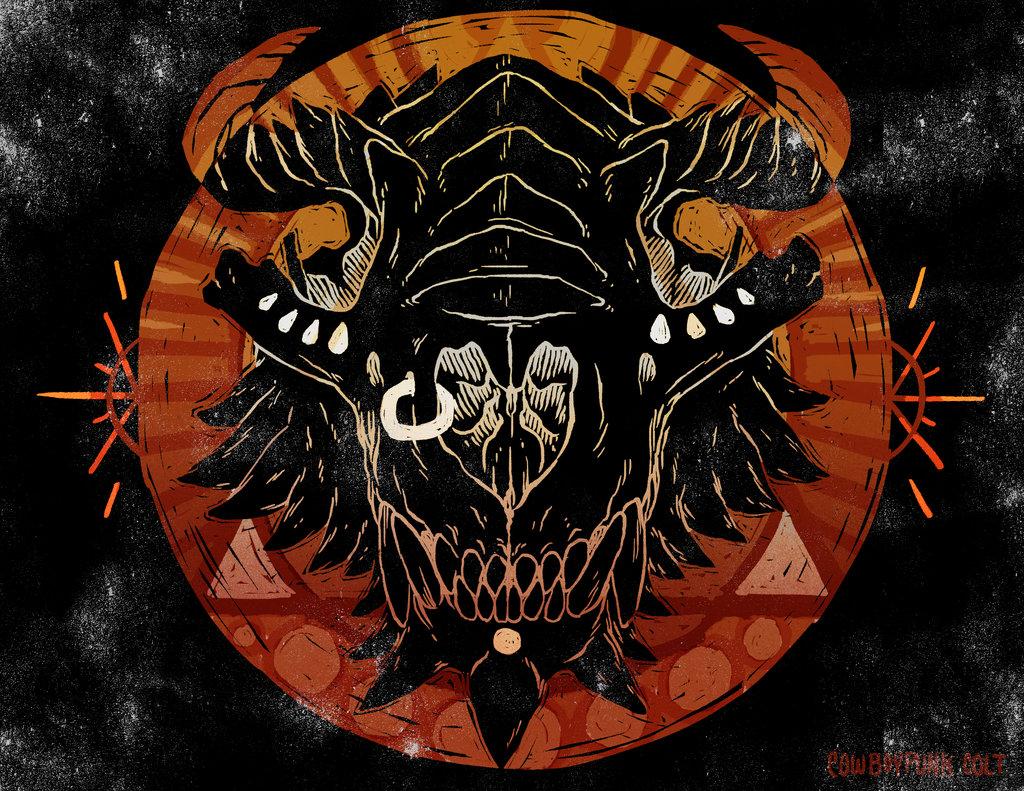 Dragon Skull (commission)