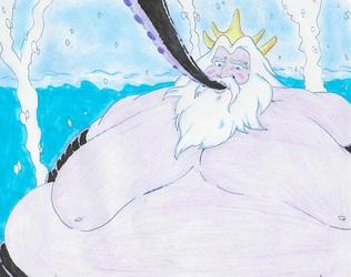 King Triton vs Ursula