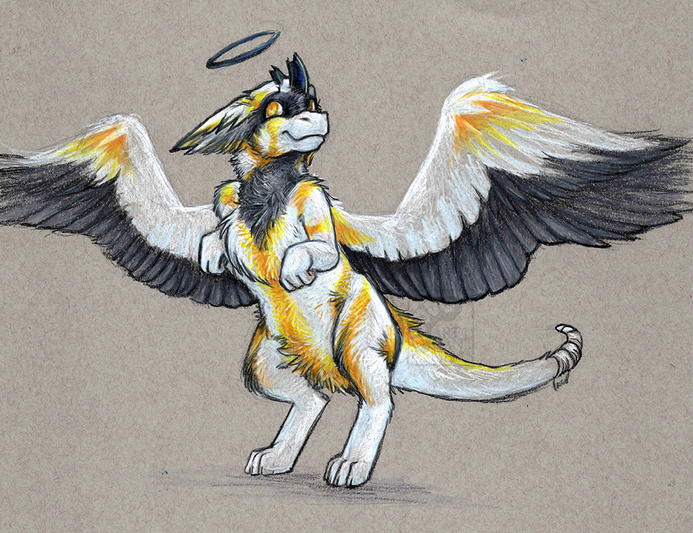 Angel Dragon: Alabaster The Angel Dragon