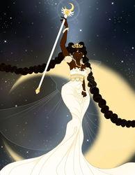 Sailor Moon - Ethnic Wallpaper Edition - Neo Queen Serenity