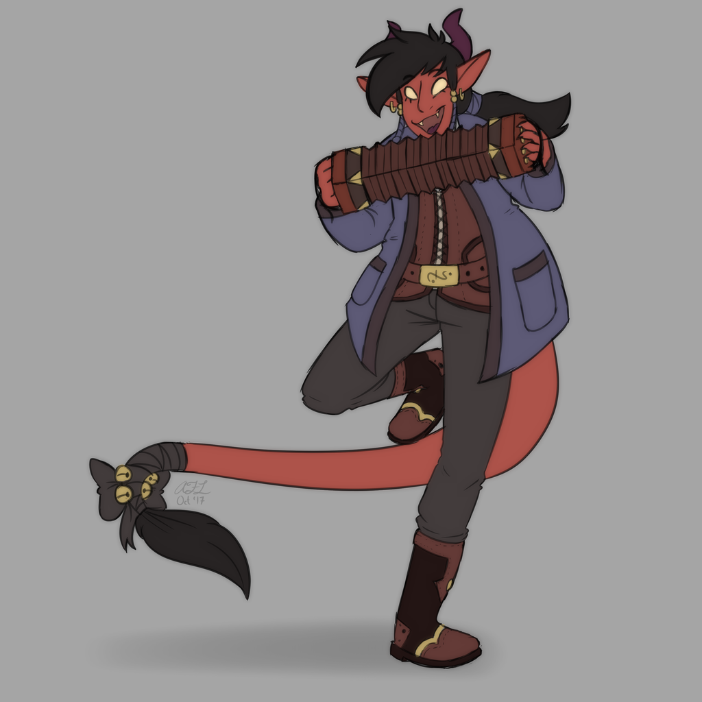Randy the Tiefling