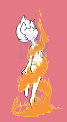 Magical Girl Fire Transformaton YCH