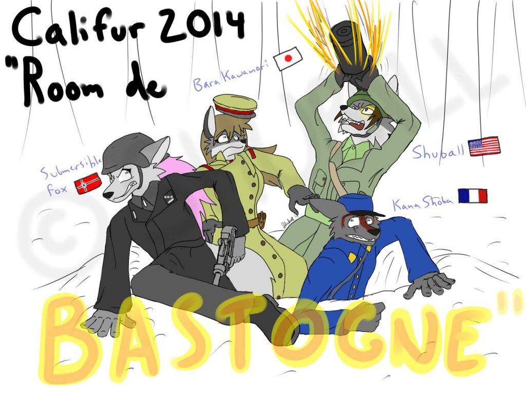 {DA} CALIFUR '14 - 'Room De Bastogne'