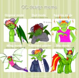 Scrae OC design meme