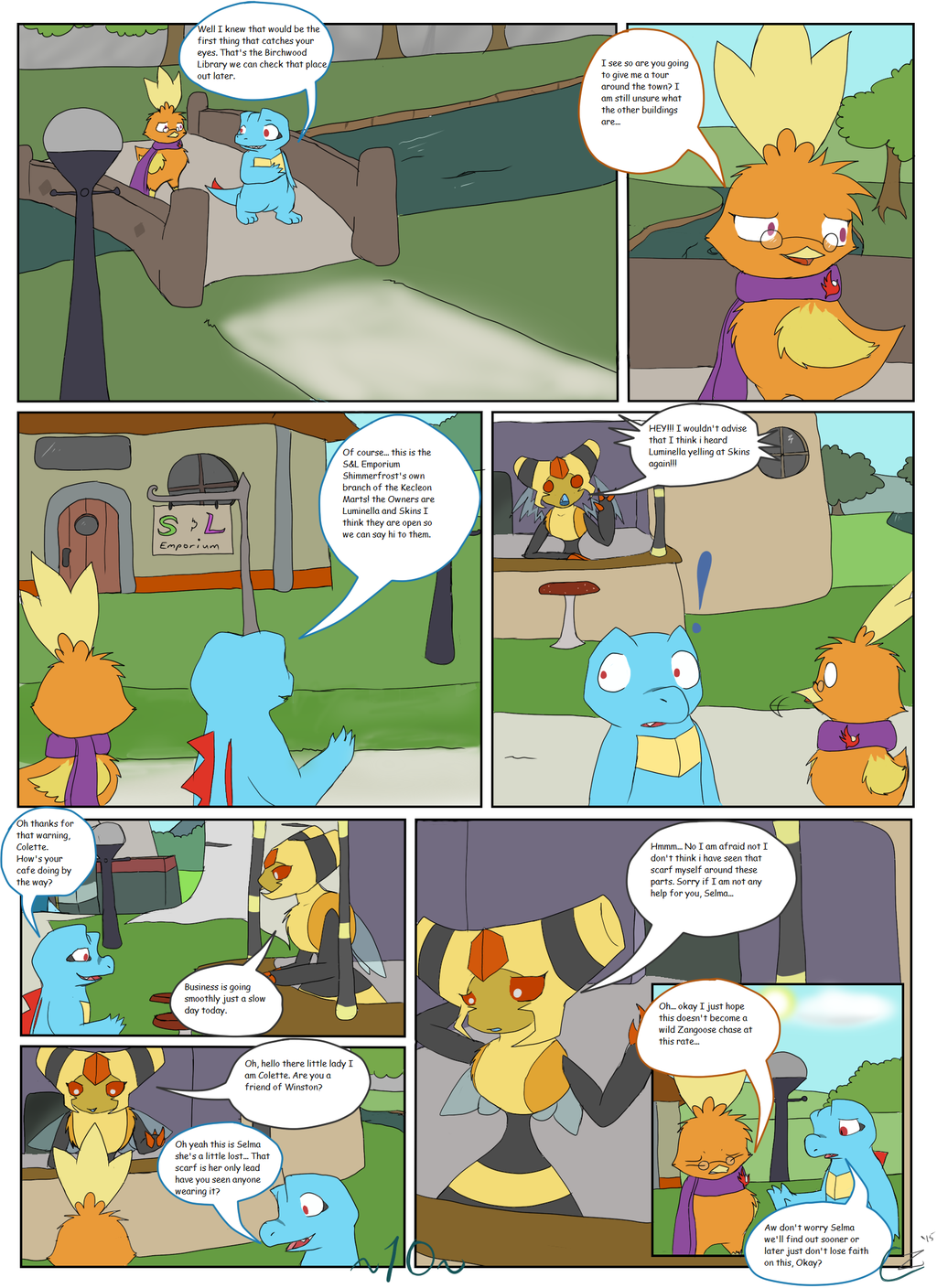 The Adventures of Team Rosewood Ch. 1 - Pg. 10