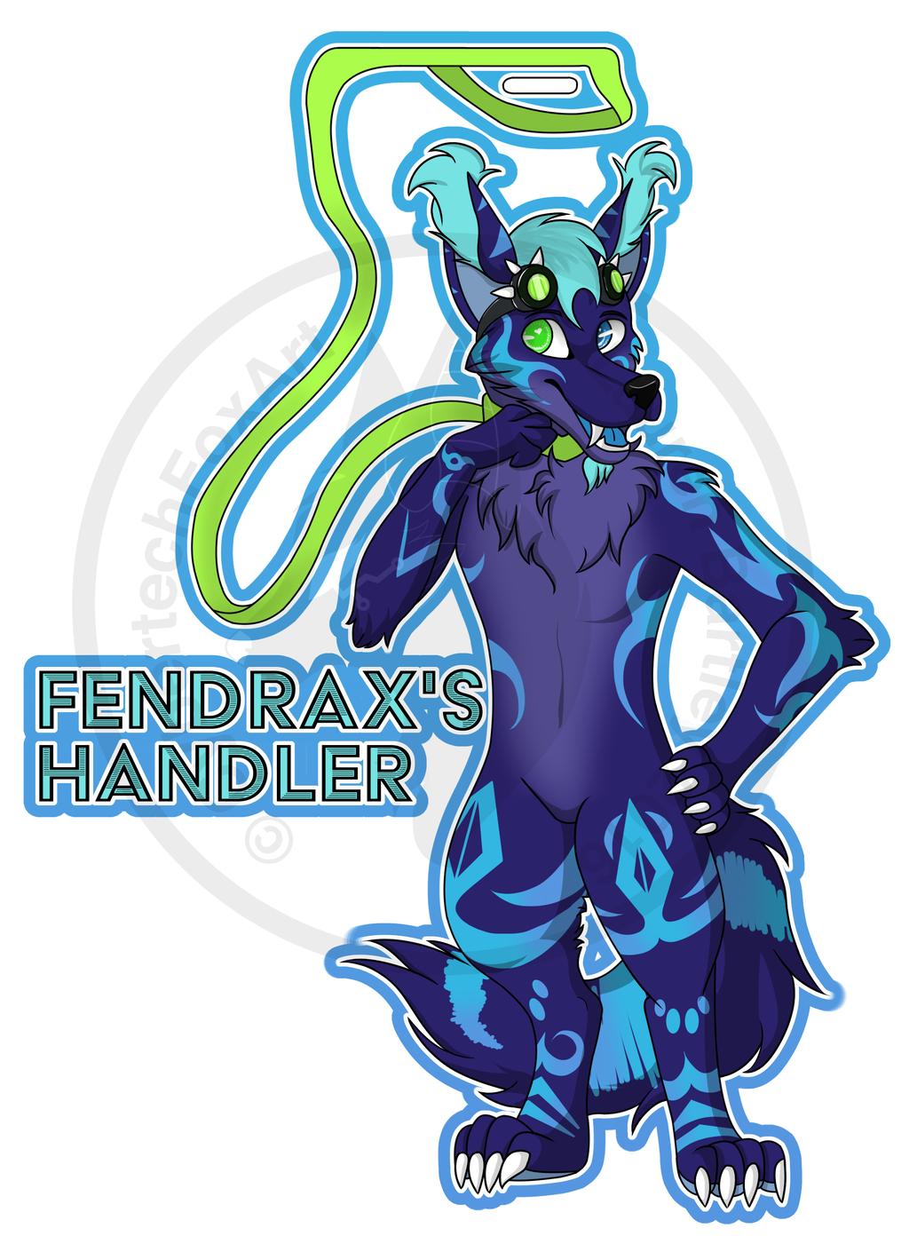 [CM] Fendrax's handler badge