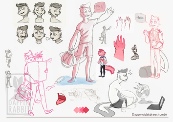 Henry sketch page