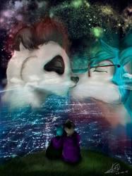 Sky kissing
