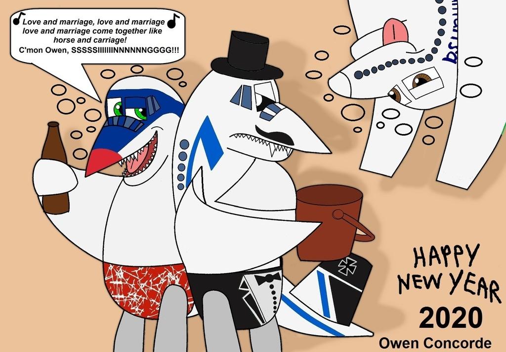 Owen's Drunken New Year Party 2020