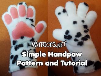 Tutorial & Pattern: Simple 5-digit handpaws!