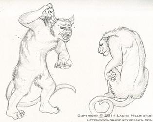 Kzin Sketches