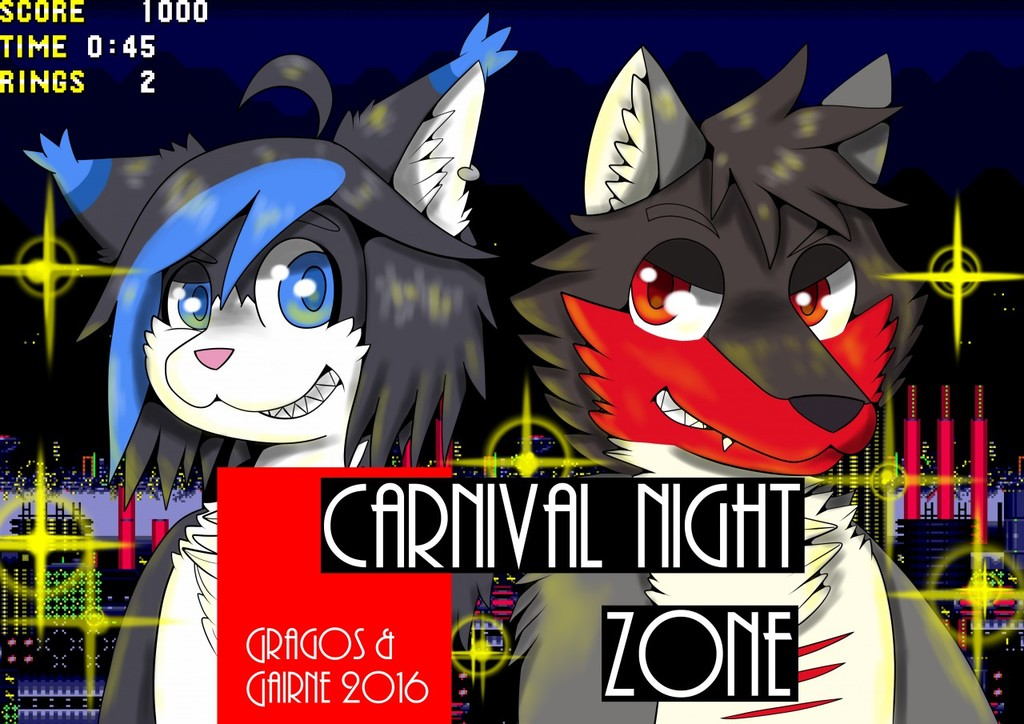 Confuzzled 2016 Roomsign: Carnival (of the) Night