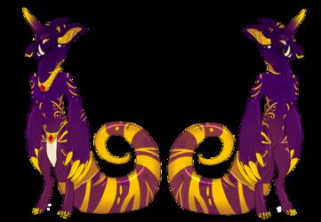 Royal Gold V1 Anthro