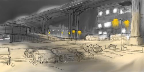 Overpass Sketch