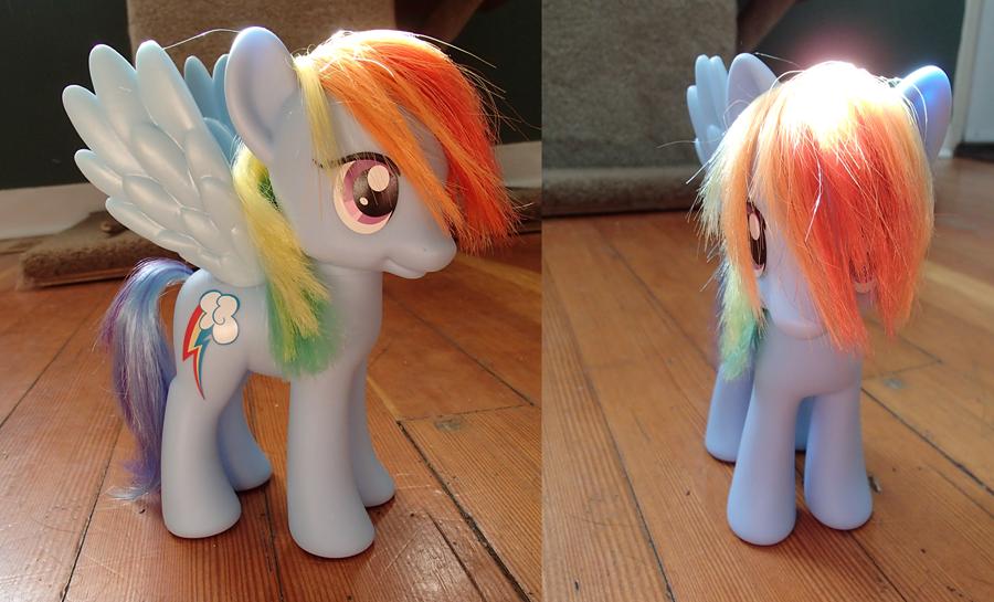 Pony haircut