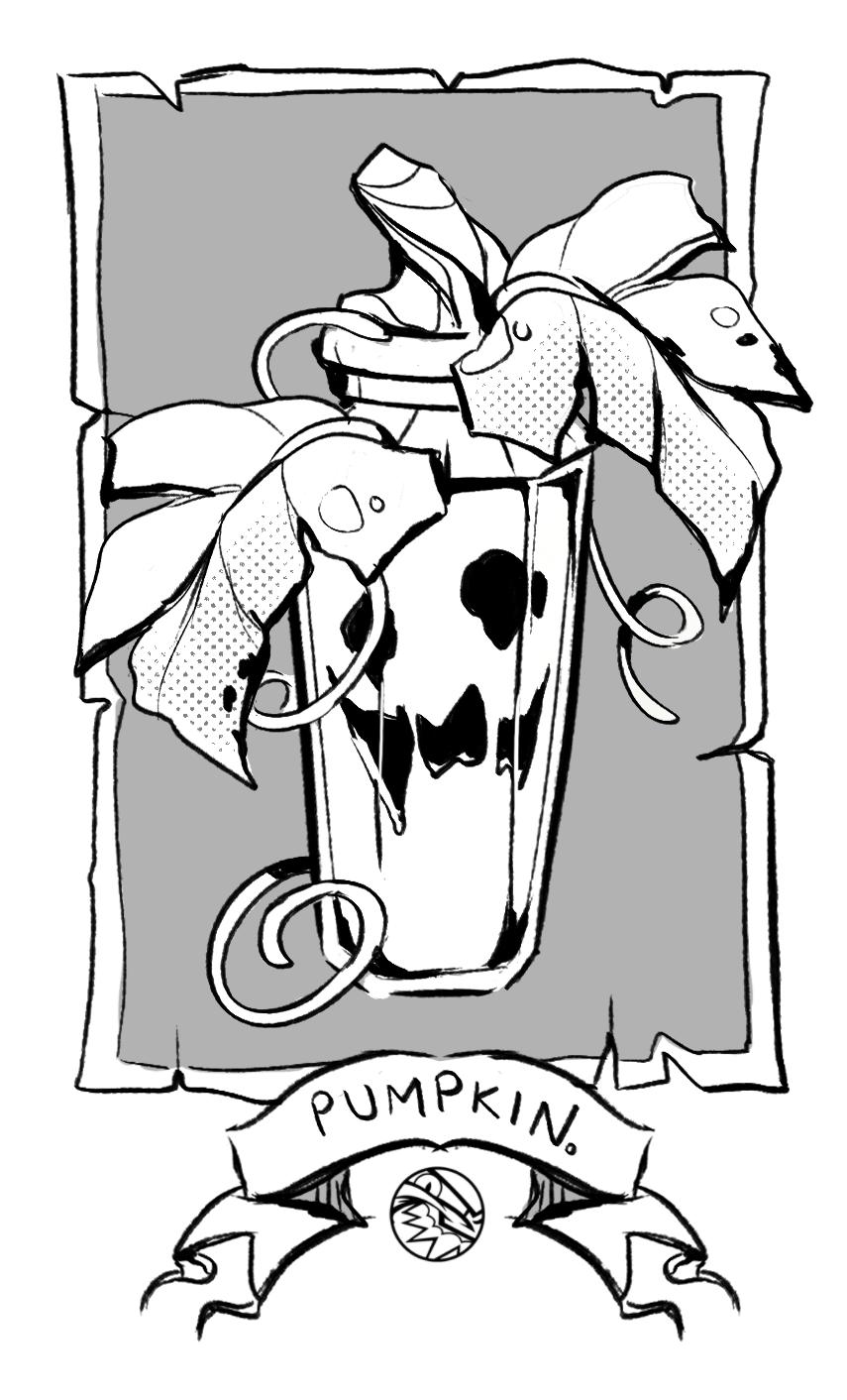 HALLOWEEN | Pumpkin Vial | FEARDAKEZ