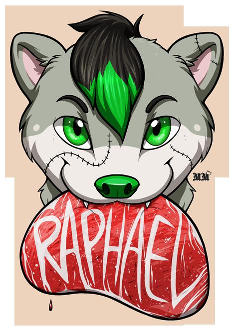 Raphael Chomp Badge
