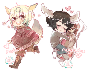 FINISHED YCH CHIBIS
