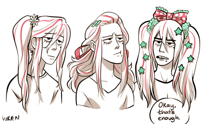 makishima hair