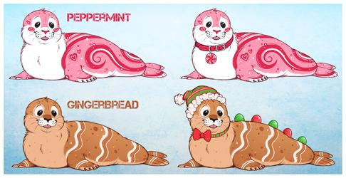 Winter Seals 1 of 2 OPEN