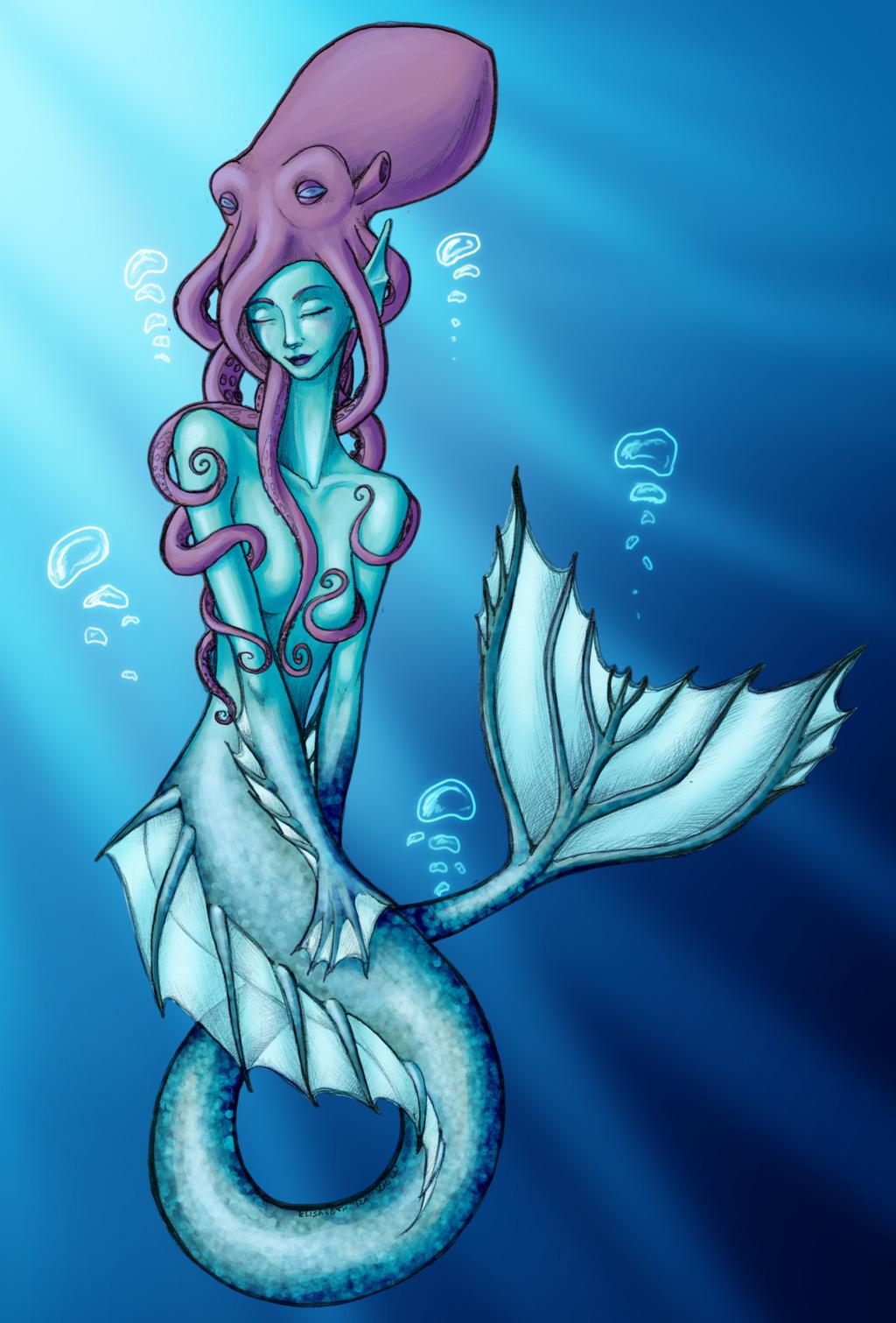 Mermaid's New Hair