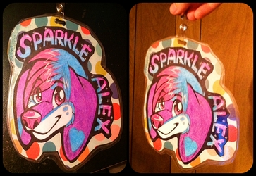 Sparkle Alex Badge
