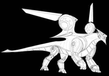Dragon sketch #1