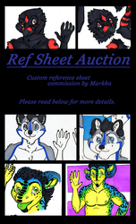 REF SHEET AUCTION! Ends in 48 HOURS!