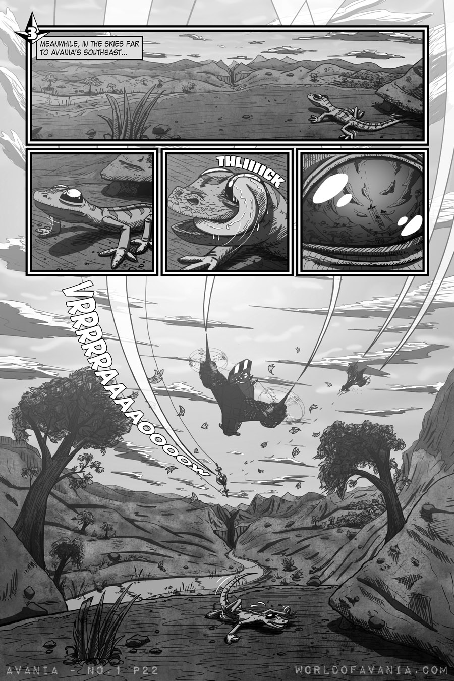 Avania Comic - Issue No.1, Page 22 (Chapter 3)