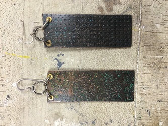 Vine and Fence Earrings